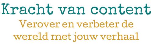 Kracht van content | Tekstschrijver Den Haag