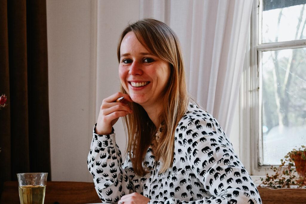 Dewi op het strand in Den Haag - hoe de hypotheekadviseur mijn omzetdoel voor 2019 bepaalde